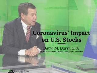 David M. Darst Examines Coronavirus' Impact On U.S. Stocks